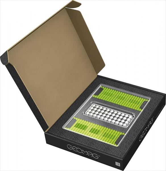Geomag MasterBox - 248 elementów, jasnozielony (GEO-186)