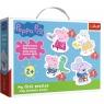 Puzzle Baby Classic: Urocza Świnka Peppa (36086) od 24 miesięcy