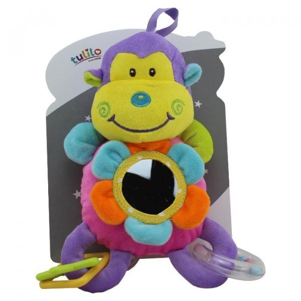 Grzechotka z dodatkami New Baby Małpka 23 cm (4839c)