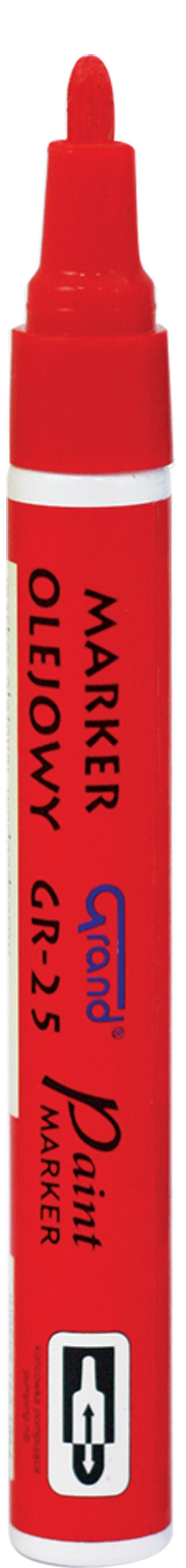 Marker olejowy GR-25 Grand czerwony