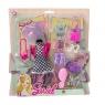 Sukienka dla lalek z akcesoriami (110868)