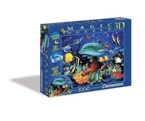 Puzzle Magic 3D Delfiny 1000 (39186)
