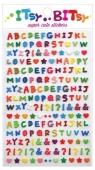 Mini naklejki Itsy bitsy Wzorzysty alfabet