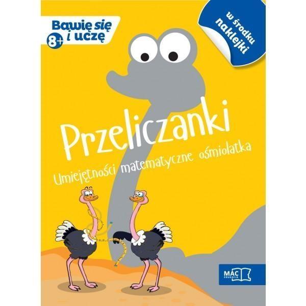 Przeliczanki Umiejętności matematyczne ośmiolatka Bankiewicz Roman, Sokołowska Beata