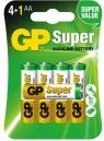 Baterie. 5x bateria alkaliczna. GP Super Alkaline LR6/AA