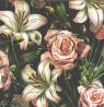 Karnet  kwadrat kwiat AF 02