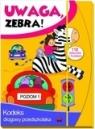 Uwaga zebra! Kodeks drogowy przedszkolaka. Poziom 1