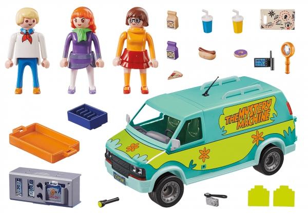 Playmobil Scooby-Doo!: Auto Mystery Machine (70286)