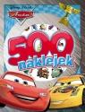 Disney Auta 500 naklejek