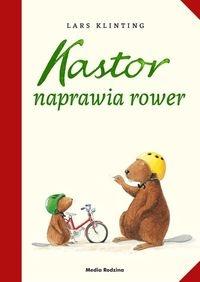 Kastor naprawia rower Klinting Lars