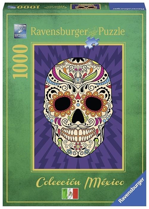 Puzzle Meksykańska czaszka 1000