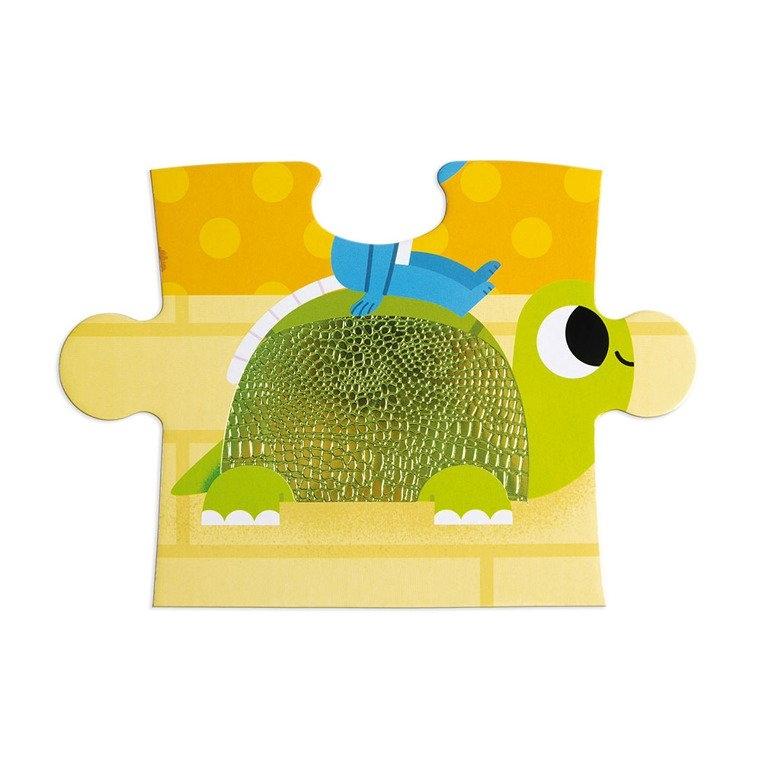Puzzle sensoryczne 20 elementów Zwierzęta domowe (J02686)