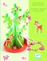 Drewniany stojak  Drzewo z  biżuterią (DJ06578)