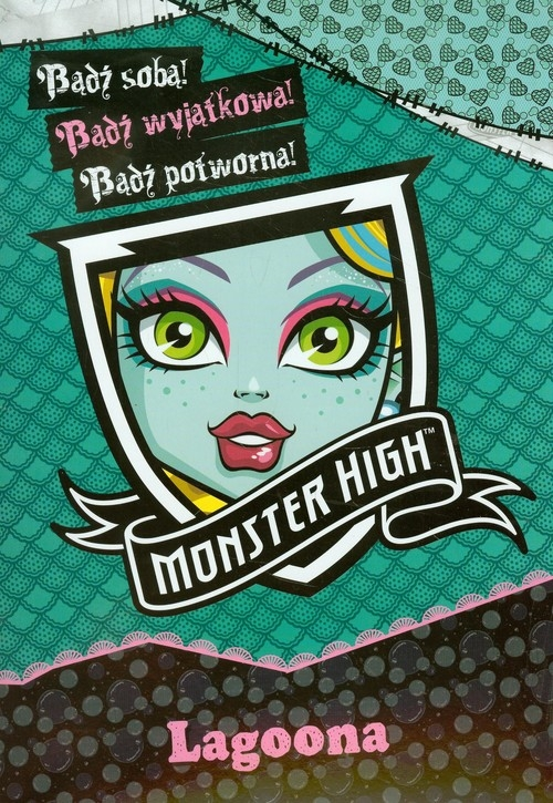Monster High Bądź wyjątkowa Lagoona