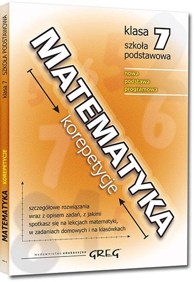 Matematyka - korepetycje - szkoła podstawowa, klasa 7 Roman Gancarczyk