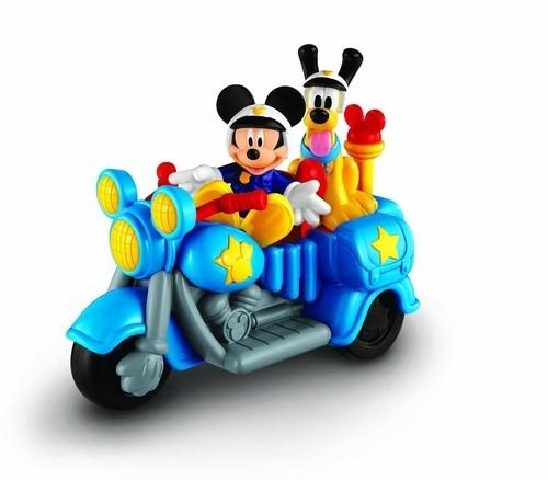 Myszka Miki motocykl policyjny