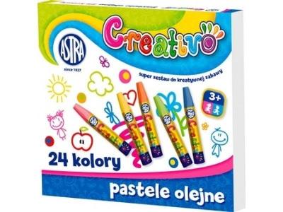 Pastele olejne Creativo 24 kolory ASTRA