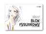 Blok rysunkowy A4/50k 90g biały (SPA012)