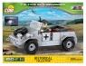 Cobi: Mała Armia WWII. VW Kübelwagen typ 82 - samochód osobowo-terenowy (2187)