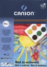 Blok do malowania A4 Canson 25 kartek Słońce