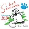 Kot Simona Kalendarz ścienny 2014