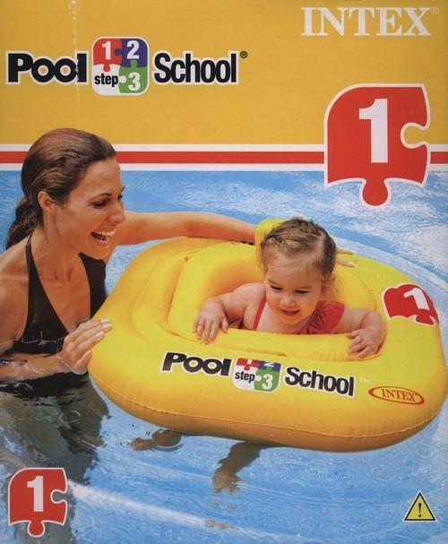 Nadmuchiwane siedzenie Pool School