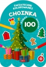 Choinka - Kolorowanka z naklejkami