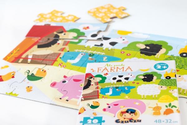 Puzzle 20: CzuCzu: Ale puzzle. Farma (336870) Opracowanie zbiorowe