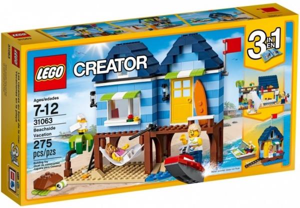 Lego Creator: Wakacje na plaży (31063)