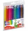Kredki wykręcane Fiorello Color Twist, 12 kolorów
