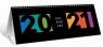 Kalendarz 2021 biurkowy poziomy WTV TOP2000
