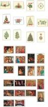 Karnet świąteczny mini z kopertą LPN 7,5 x 10 cm