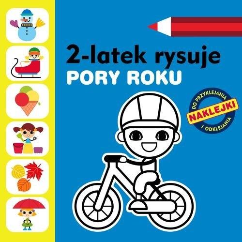 2-latek rysuje Pory roku Głowińska Anita