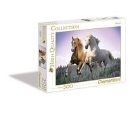 Puzzle Konie na wolności Free horses 500 (30287)
