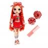 Rainbow High: Lalka Ruby Anderson - Cheerleaderka (572541EUC/572039)