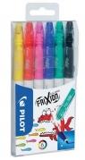 Markery Frixion Colors 6 kolorów PILOT