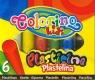 Plastelina 6 kolorów Colorino Kids (13871PTR)