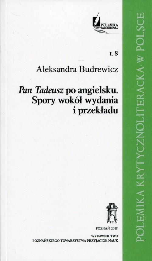 Pan Tadeusz po angielsku Budrewicz Aleksandra
