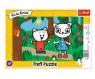 Puzzle ramkowe 15: Kicia Kocia w lesie (31387)