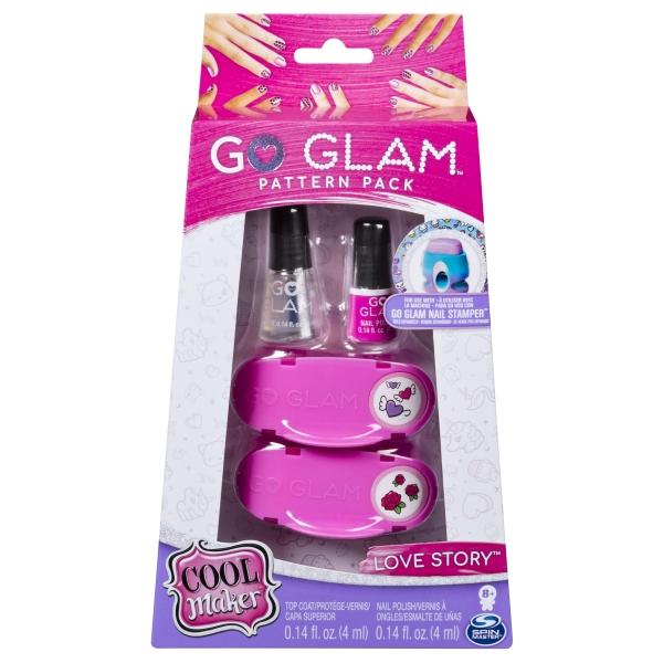 Go Glam: Duży zestaw uzupełniający - różowy (6046865)