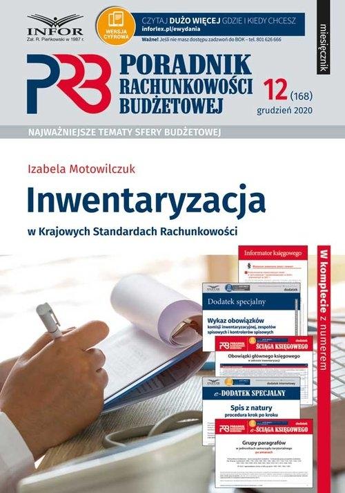 Inwentaryzacja w Krajowych Standardach Rachunkowości Motowilczuk Izabela