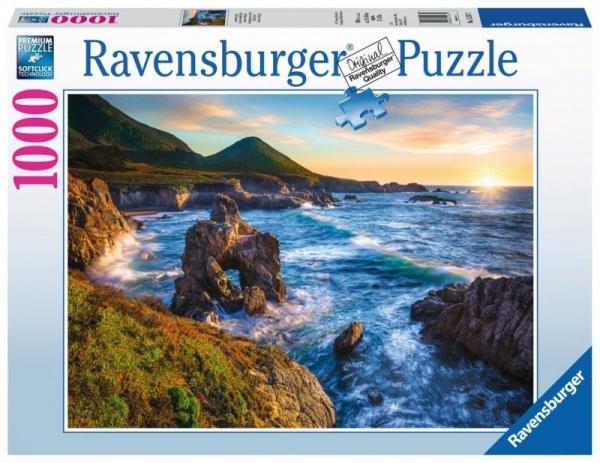Puzzle 1000: Zachód słońca nad oceanem (152872)