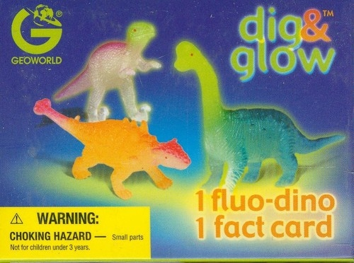 Wykopaliska świecące dinozaury mini - Spinosaurus