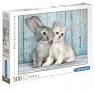 Puzzle High Quality Collection 500: Kotek i Królik (35004)