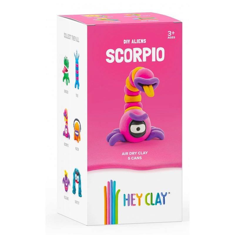 Hey Clay: masa plastyczna - obcy Scorpio (HCLMA005PCS)