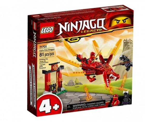 Lego Ninjago: Smok ognia Kaia (71701)