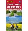 Szlaki i trasy rowerowe okolic Krakowa, 1:50 000 - mapa turystyczna (1541-2020)