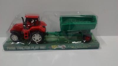 Traktor z przyczepą  (G025868)