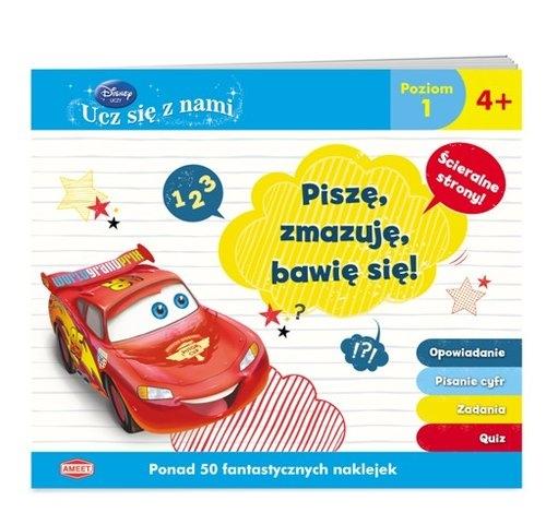 Disney Ucz się z nami Auta Piszę, zmazuję, bawię się (SPI1)