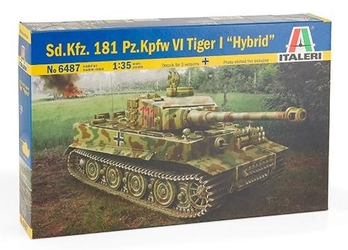 ITALERI Sd.Kfz.181 Pz.Kpfw.IV Tiger I